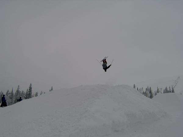 First backflip