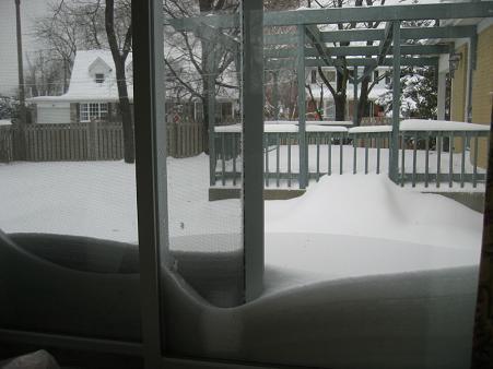 record snowfall montreal