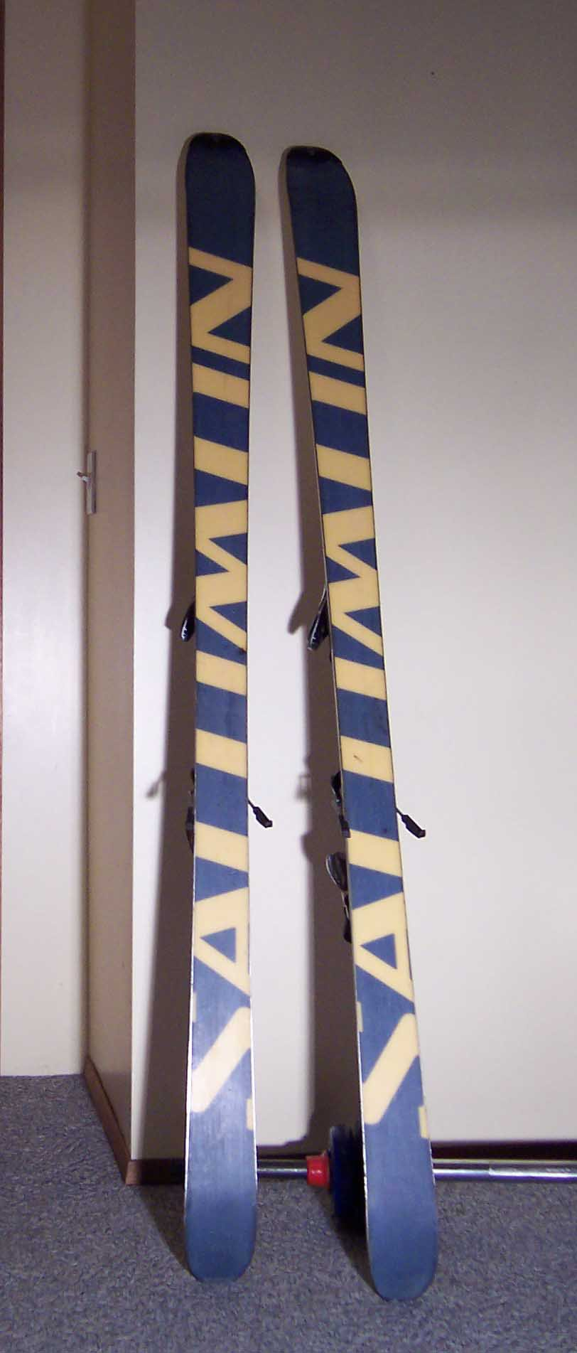 Skis for sale.