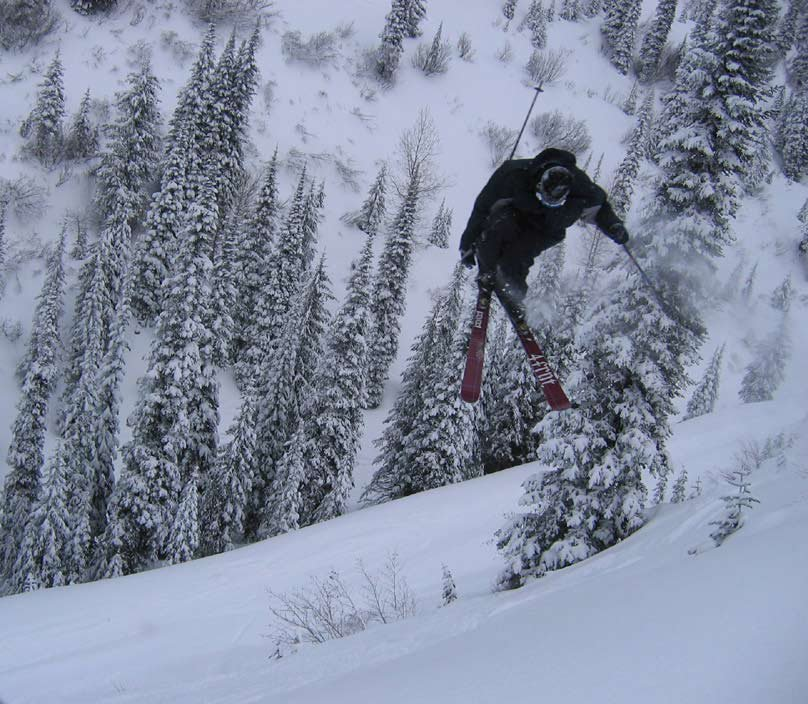 2005 Backcountry Drop off, spin to win (jk, only a 360)