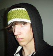 newly made headband et moi