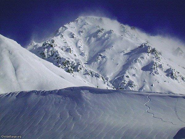 las lenas extreme skiing