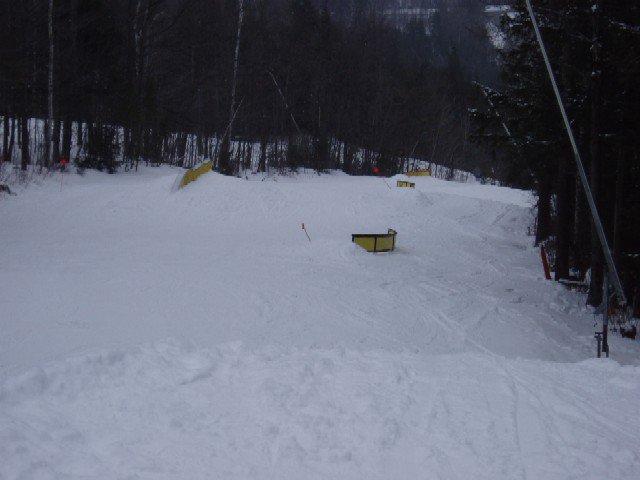 c rail, wave box, s rail, straight rail and 35 footer at bottom