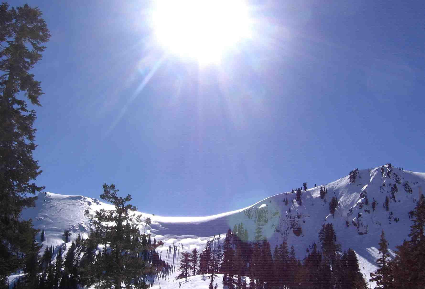 Lovely day to ski in Ca