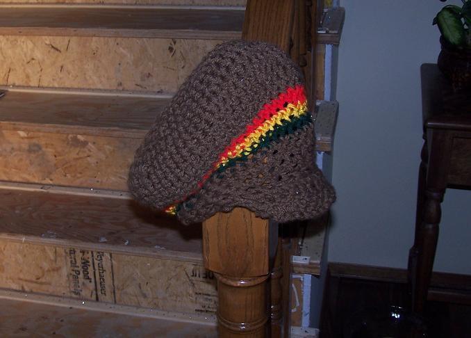 rasta hat again