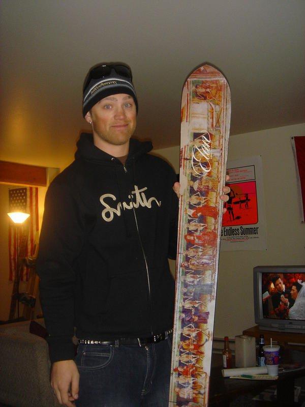 Huge New Skis