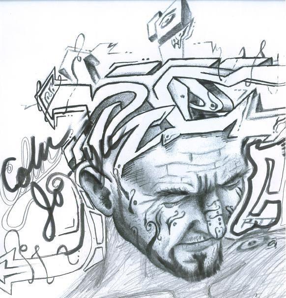Graffitti Head