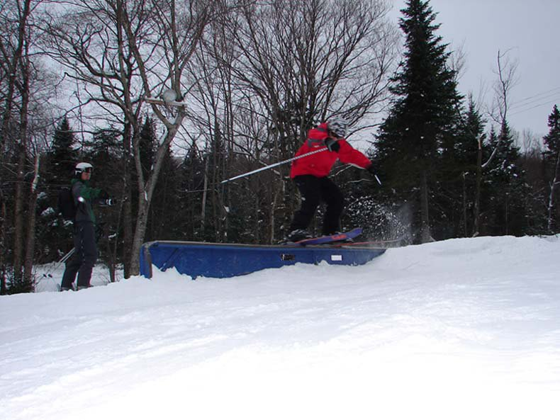 first rail of the year...ya i kno its gay