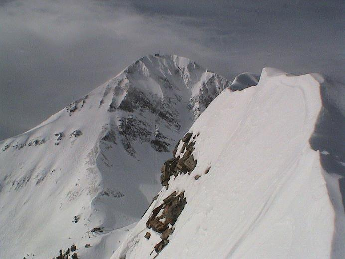 Lone Peak from A-Z Chutes