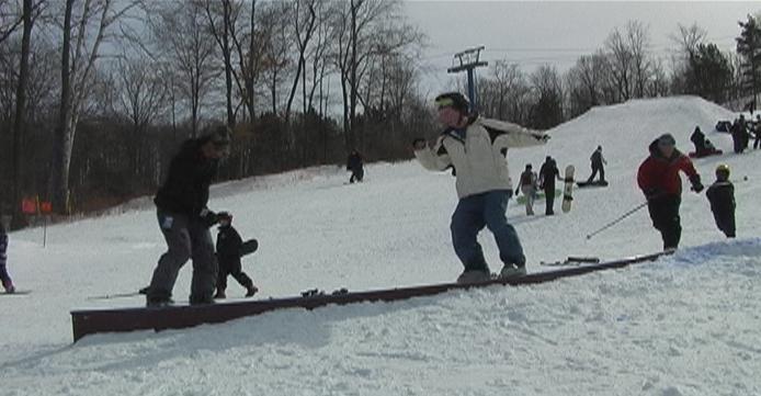 who needs skis, progression