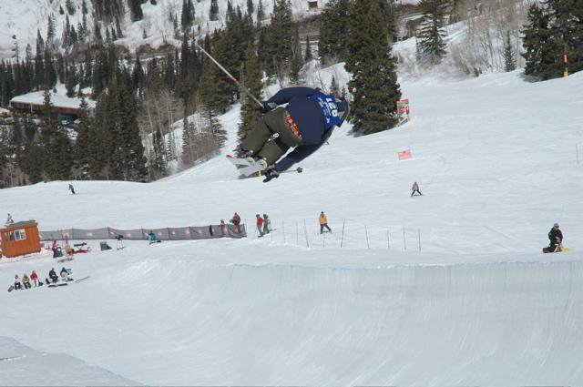 hey look at the halfpipe