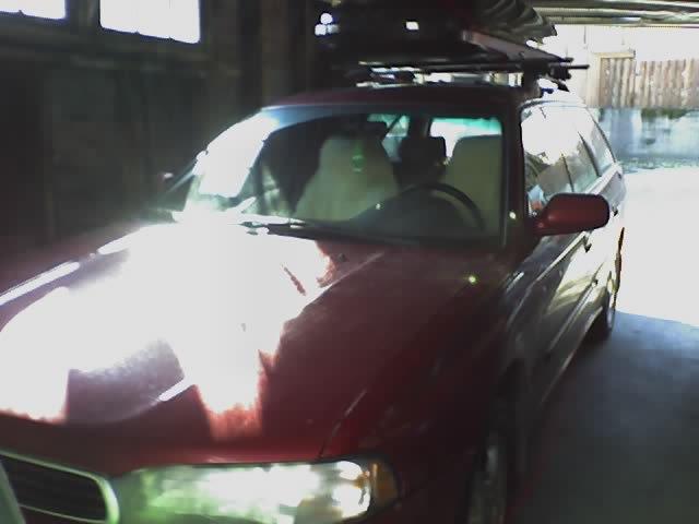 my car in my garage