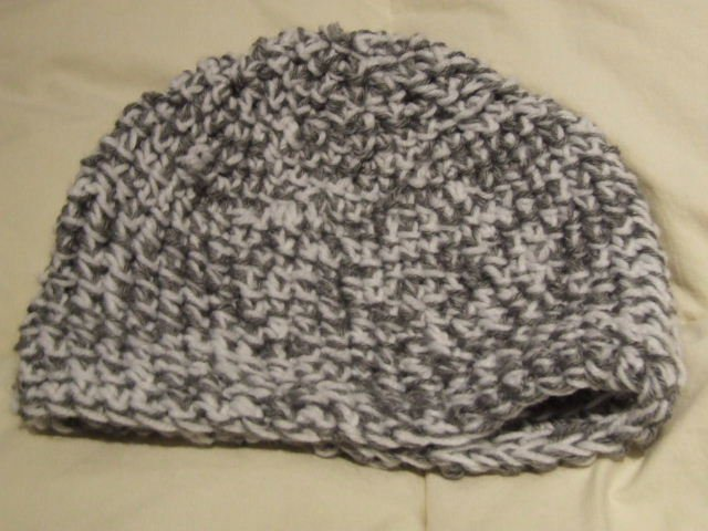 first hat done