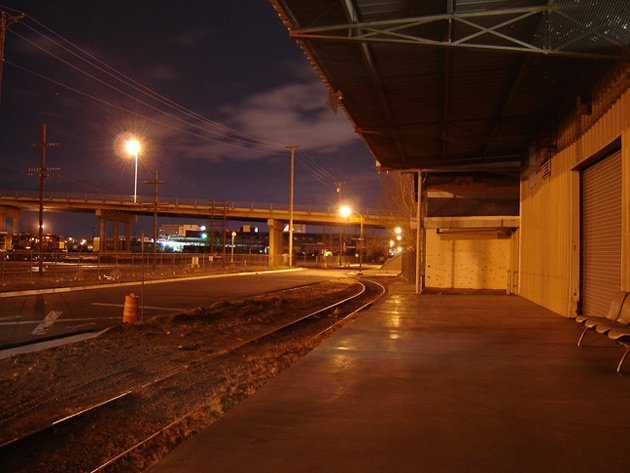Down at the tracks