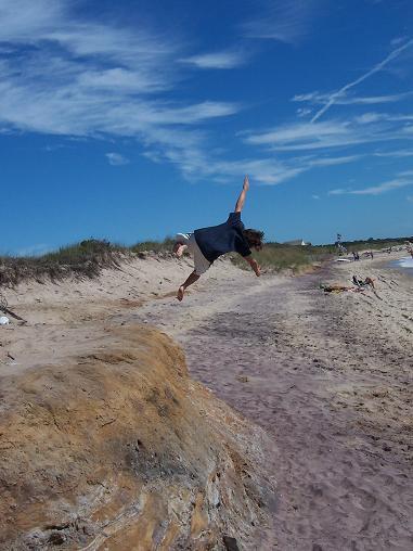 cork 5 at the beach