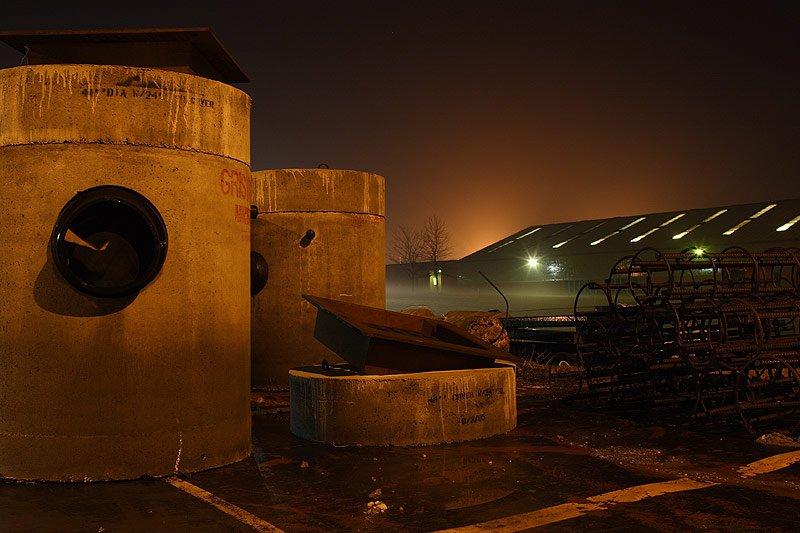 Concrete & Fog