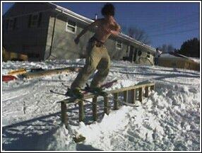 i like to ski topless