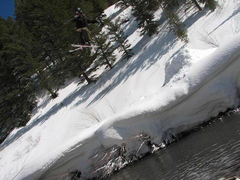 180 over river