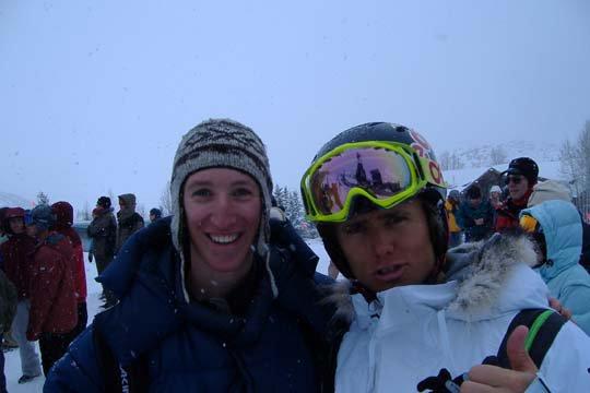Jon and me