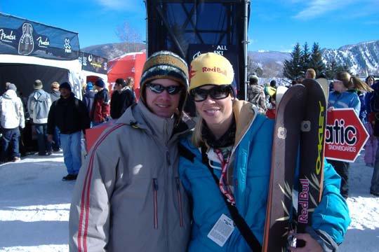Jonny and Kristi