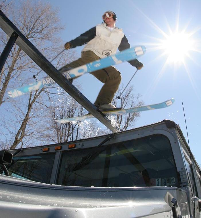 sliding the hummer rail