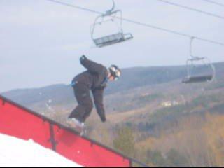 flat down - snowboard
