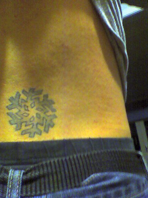 My Snowflake Tattoo