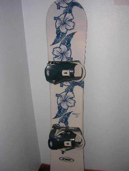 front of my board