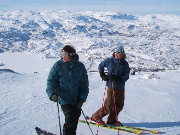 On top of Haukeli,Norway