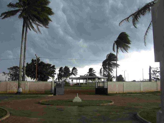 Huge storm bearing down
