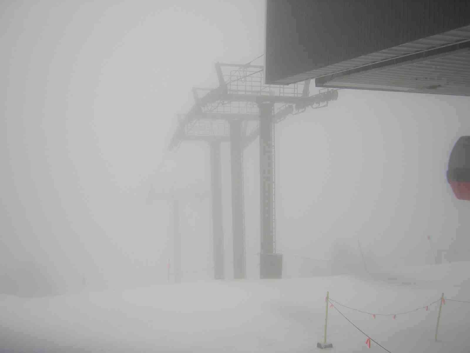 Stowe Gondola in Storm