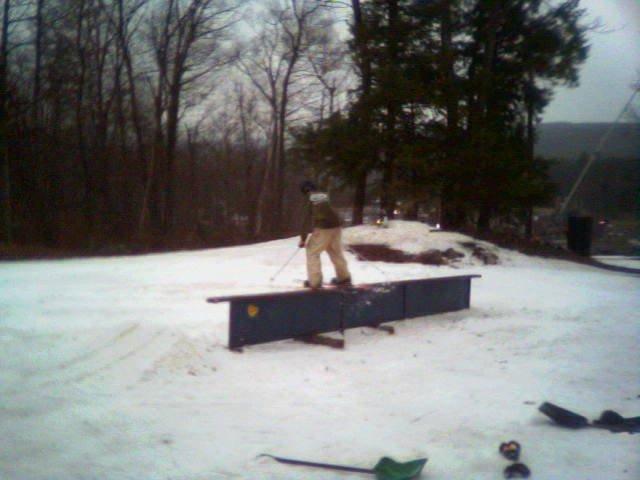 flat rail we set up at wawa