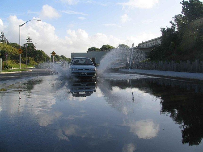 Car + Water =