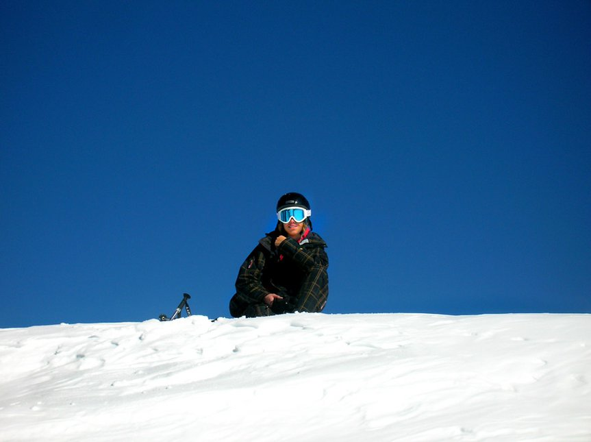 good pic of me with blue sky