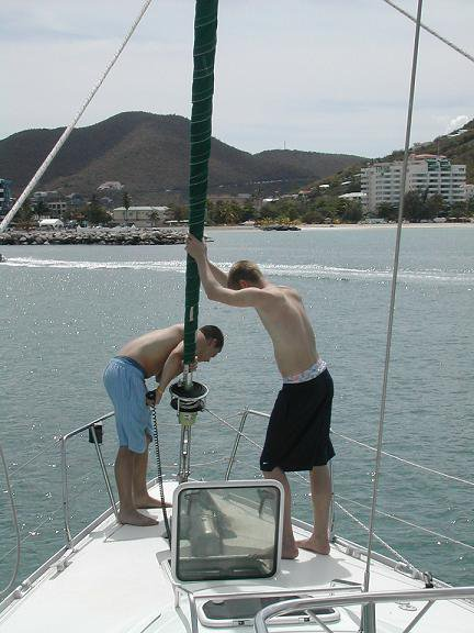 Putting Down The Anchor