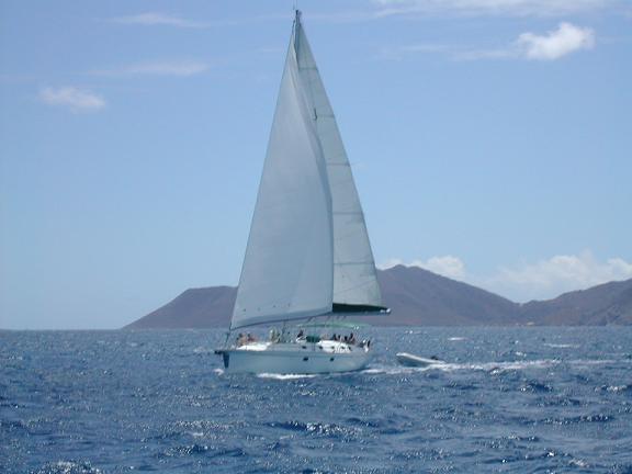 The Boat Sailing