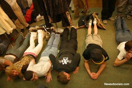 push up contest for a siver jacket at killington