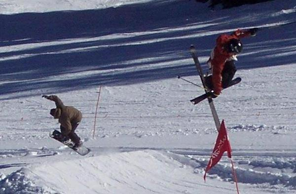 Skiing owns pic