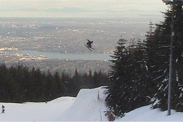 CJ likes ski tricks (5forty)