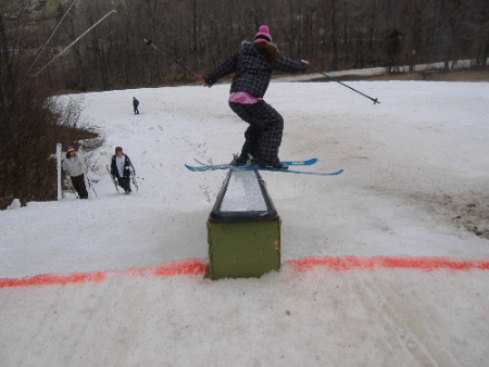 omg more proof i can ski