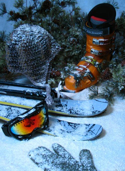 skiing set up pic