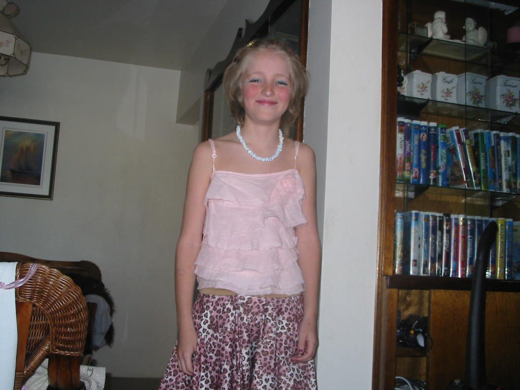 ME DRESSED UP AS A CHICK!! I WAS IN GRADE 5