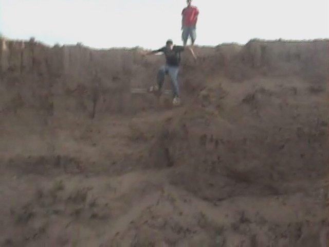we jump dirt clifs bitch