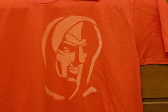 MF DOOM shirt front