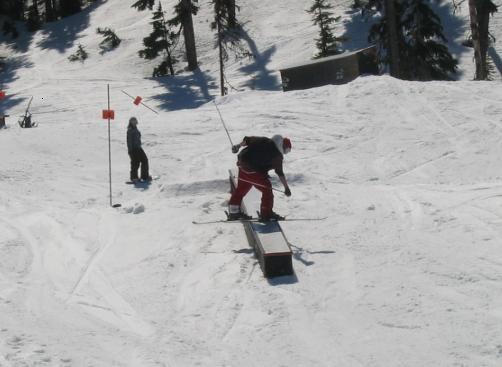 skier Front Board
