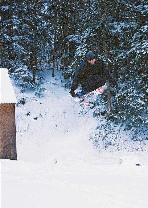 Backyard Jumping