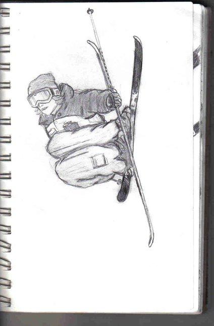 josh bibby ski time sketch