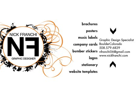 New Busness Card.. any better ?