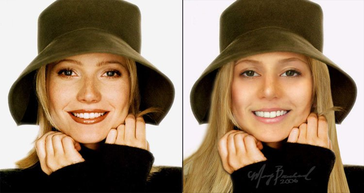 Gwyneth Imposter......... from old photog class