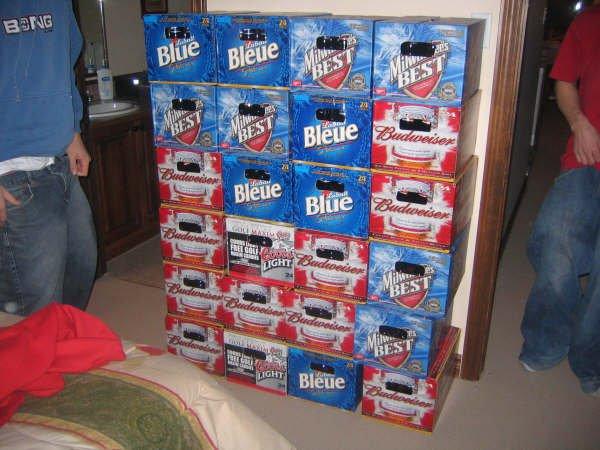 Spring Break Beer Supply